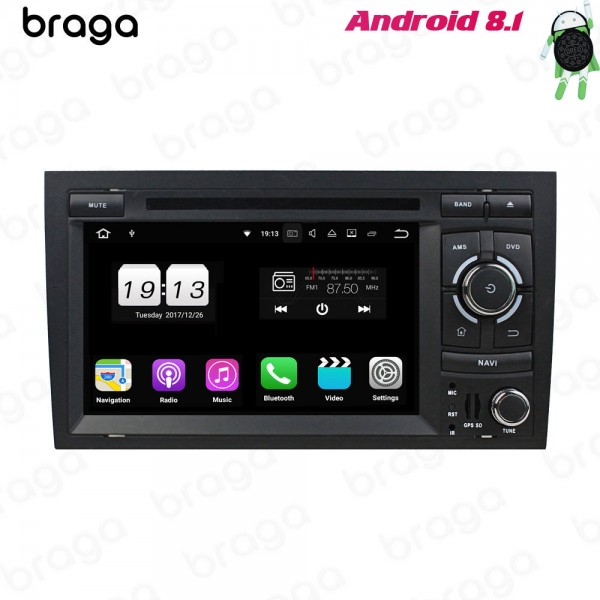 Audi A4 B8 2002 - 2008 7 Inch DVD Android Car Sound System