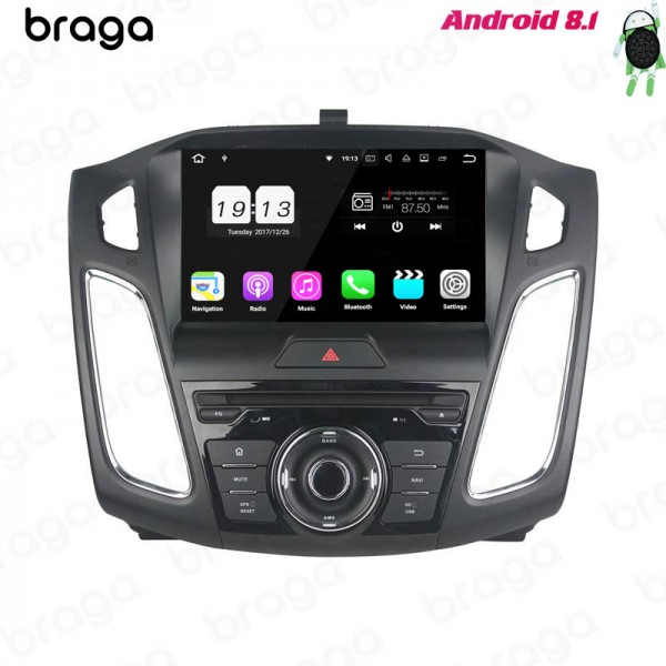 Ford Focus/C-Max III 2010 - 2015 9 Inch Android DV...
