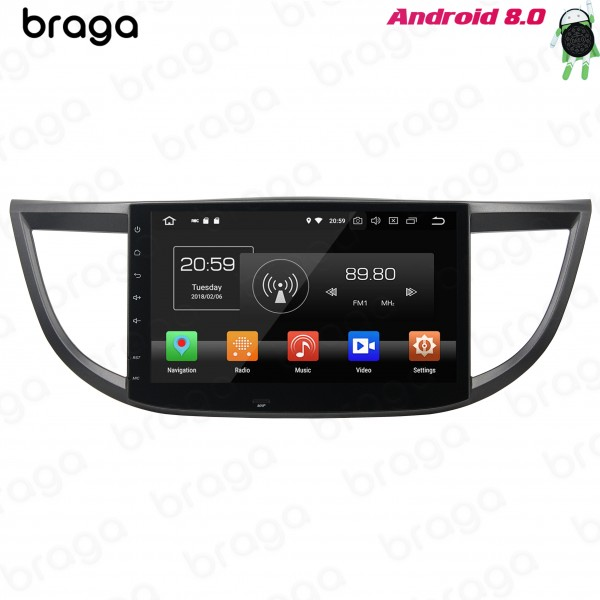 Honda CRV 2011 - 2016 10.1 Inch Android Satnav Radio Car Audio Sound System