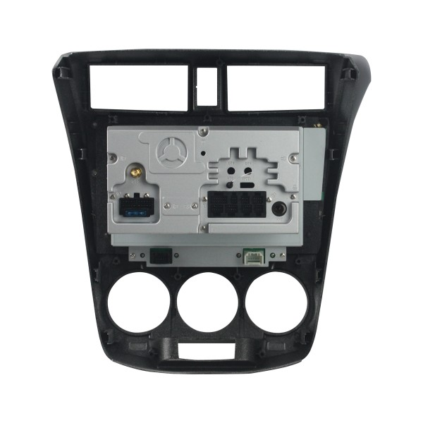 Honda City 2006 - 2014 10.1 Inch Silver M/T Aircon Android Satnav Radio Car Audio Sound System
