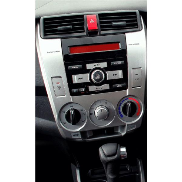 Honda City 2006 - 2014 10.1 Inch Silver M/T Aircon...