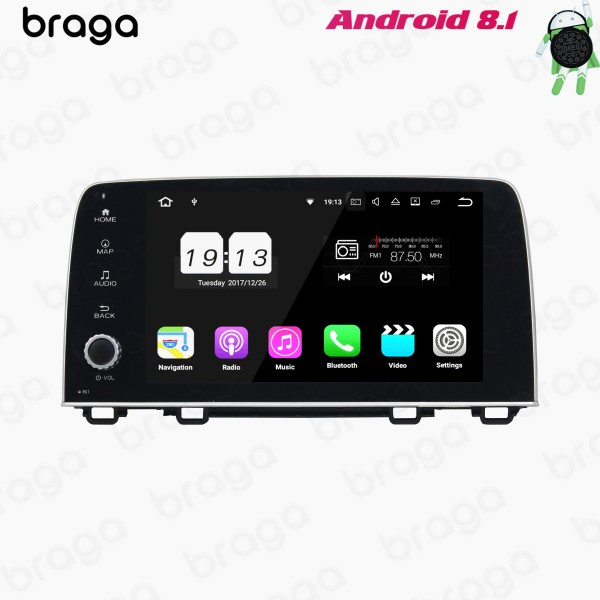 Honda CR-V 2017 - 2019 9 Inch Android Satnav Radio...