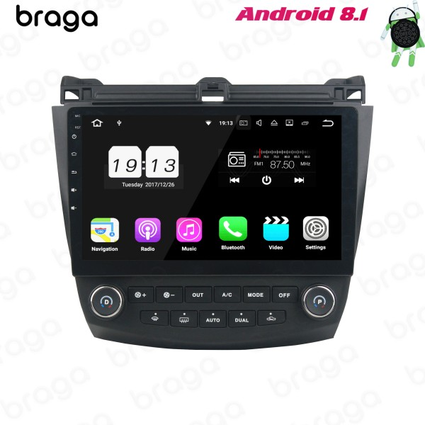 Honda Accord 7th GEN 2003 - 2007 10.1 Inch Android...