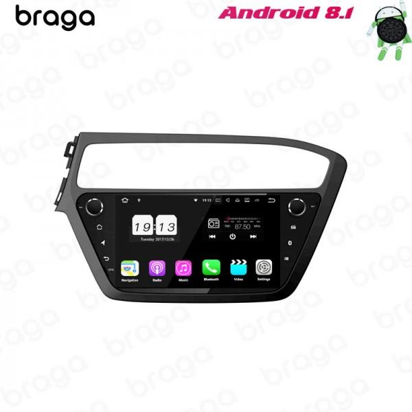 Hyundai I20 LHD 2014 - 2019 9 Inch Android Satnav ...