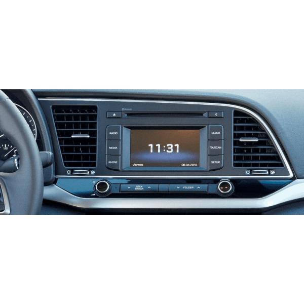 Hyundai Elantra 2016 - 2019 LHD 10.1 Inch Android ...