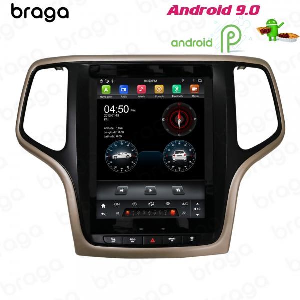 Jeep Cherokee 2012 - 2018 9.7 Inch Tesla Android Satnav Radio Car Audio Sound System