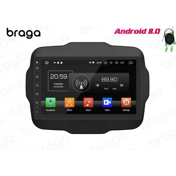 Jeep Renegade 2014 - 2019 Android 9 Inch Satnav Ra...