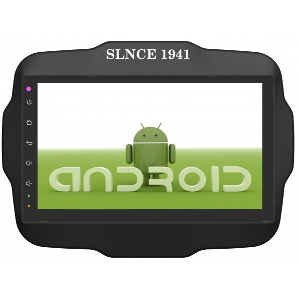 Jeep Renegade 2014 - 2019 Android 9 Inch Satnav Radio Car Audio Sound System