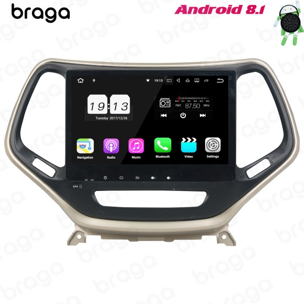Jeep Grand Cherokee 2015 - 2019 10.1 Inch Android ...
