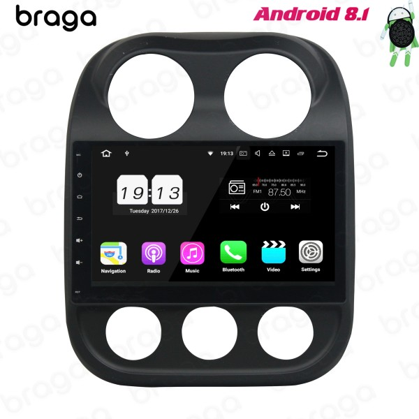 Jeep Compass 2013 - 2016 10.1 Inch Android Car Aud...