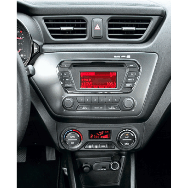 Kia K2 Rio LHD 2011 - 2017 9 Inch Android Car Audio Sound System