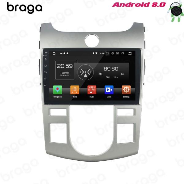 Kia Cerato TD Forte 2009 - 2012 AT Aircon 9 Inch Android Car Audio Sound System