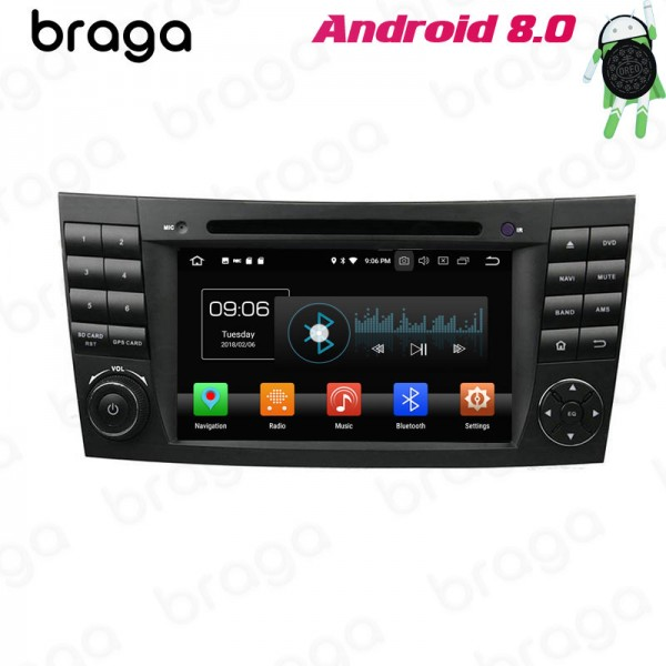 Mercedes Benz E-Class W211 2002 - 2008 W211 7 Inch DVD Android Car Sound System