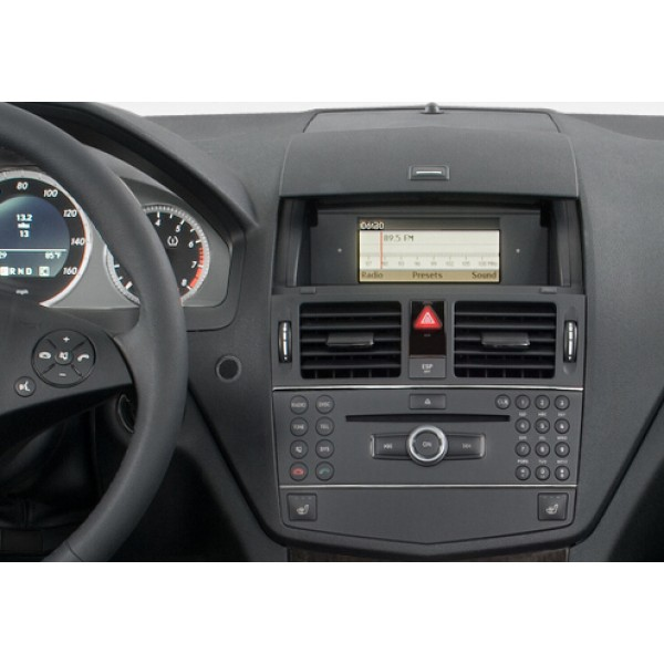 Mercedes C-Class W204/S204 2008 - 2010 NTG 4.0 10.25 INCH ANDROID SATNAV RADIO CAR SOUND SYSTEM