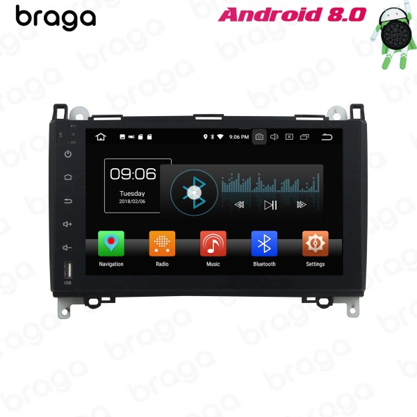 Mercedes Benz A-Class B-Class Vito Viano W639 2004 - 2018 Android 9 Inch Car Audio Sound System