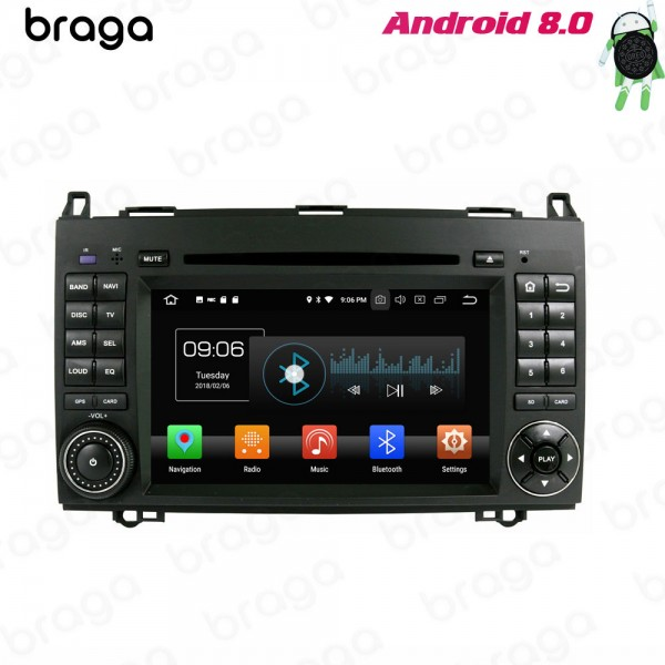 Mercedes Benz A-Class B Class Vito Viano W639 2005 - 2018 Android Car Sound System