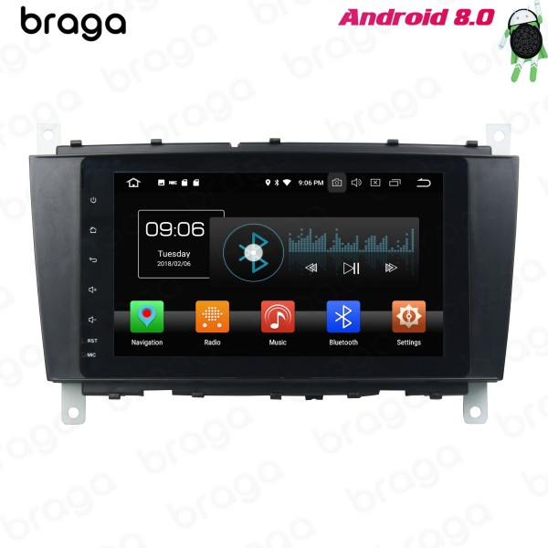 Mercedes Benz C/G-Class 2005 - 2008 8 Inch Android Car Audio Sound System