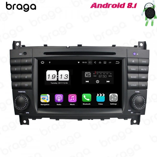 Mercedes Benz C/G-Class W203/W204 7 Inch DVD Android Car Sound System