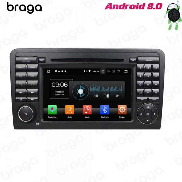 Mercedes Benz GL ML W164 2006 - 2012 7 Inch DVD Android Car Sound System