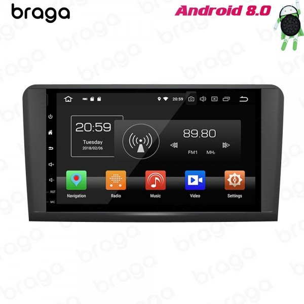 Mercedes Benz ML/GL X164 W164 2005 - 2011 Android ...