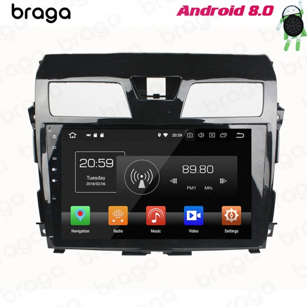 Nissan Teama Almina 2012 - 2015 10.1 Inch Android Satnav Radio Car Audio Sound System