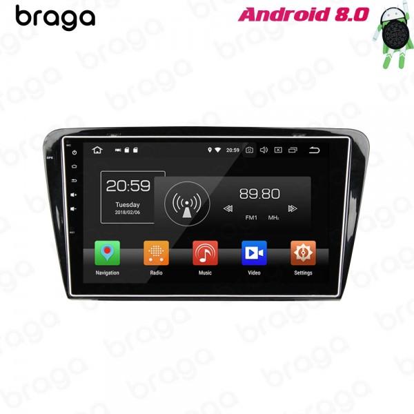 Skoda Octavia 2015 - 2019 10.1 Inch  Android Satnav Radio Car Audio Sound System