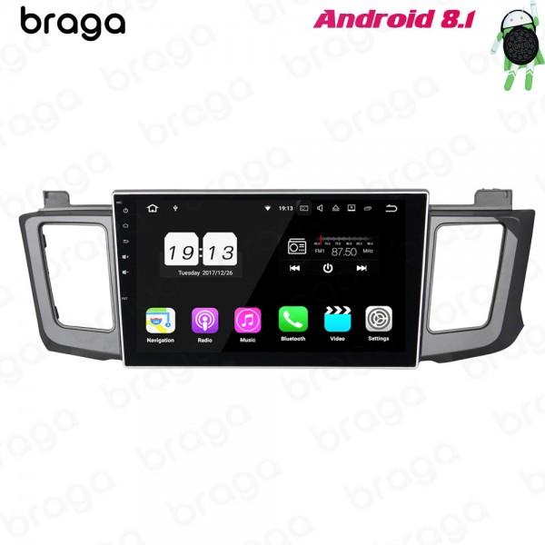 Toyota RAV4 2012 - 2016 10.1 Inch Android Satnav Radio Car Audio Sound System