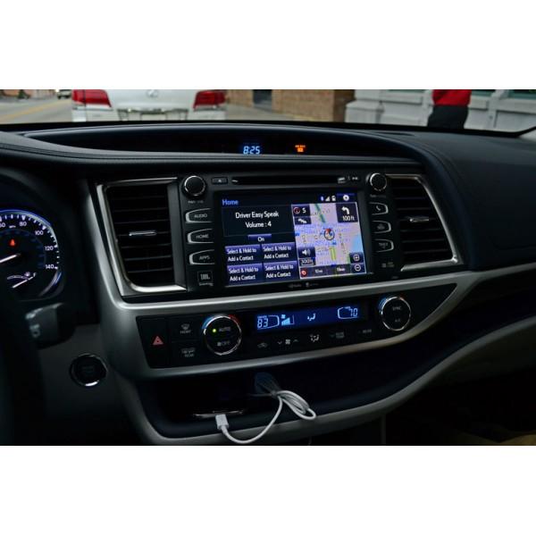 Toyota Highlander 2013 - 2016 10.1 Inch Android Satnav Radio Car Audio Sound System