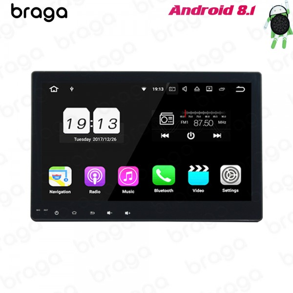 Toyota Hilux GD6 2016 - 2019 10.1 Inch Android Satnav Radio Car Audio Sound System