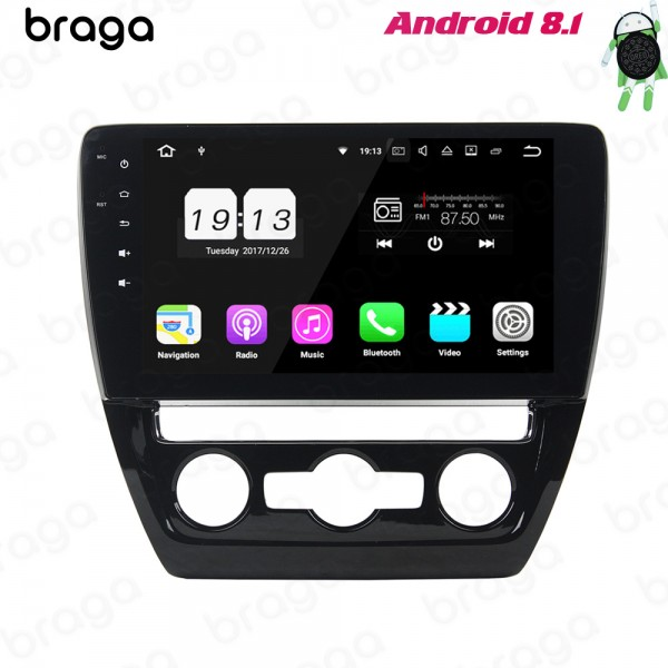 Volkswagen Sagitar 2012 - 2016 10.1 Inch Android Satnav Radio Car Audio Sound System