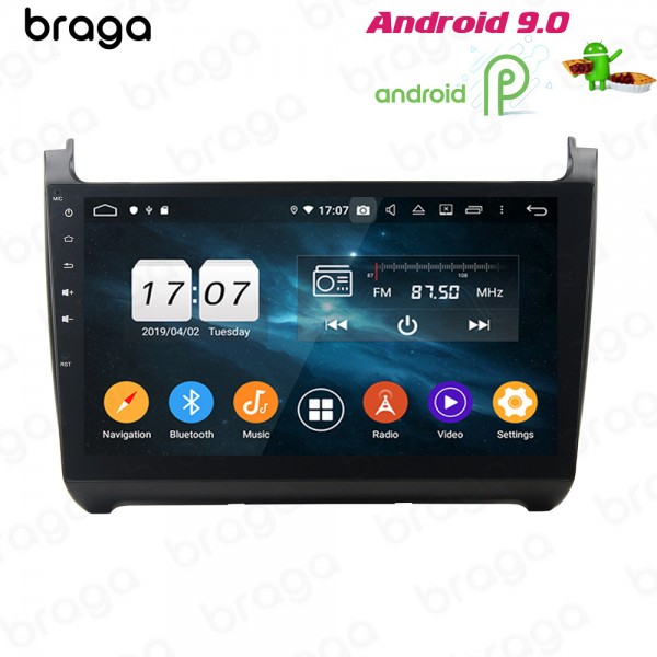 Volkswagen Polo 2012 - 2016 10.1 Inch Android Satn...